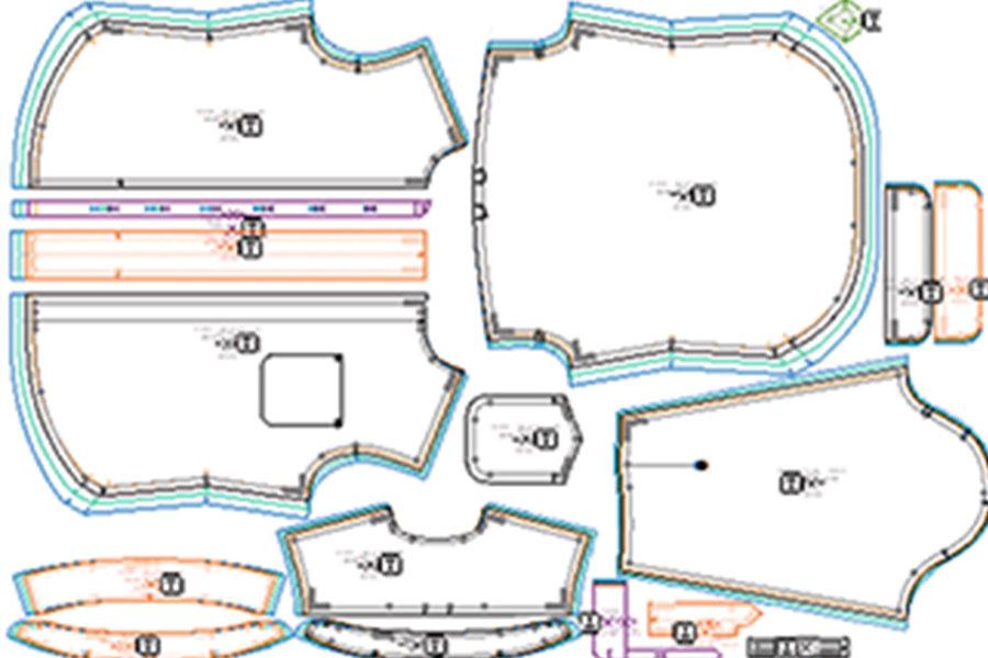 Pattern Piece Grading